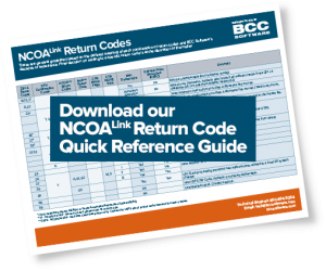 Download the NCOALink Quick Reference Guide